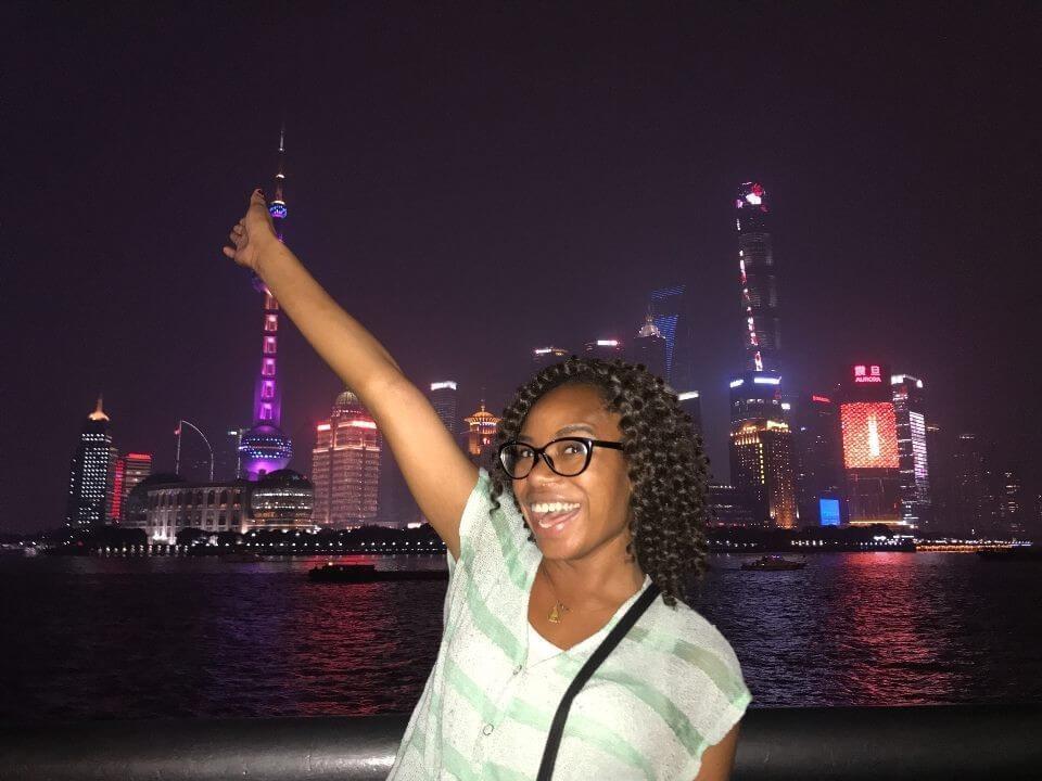 Tyeisha in Shanghai