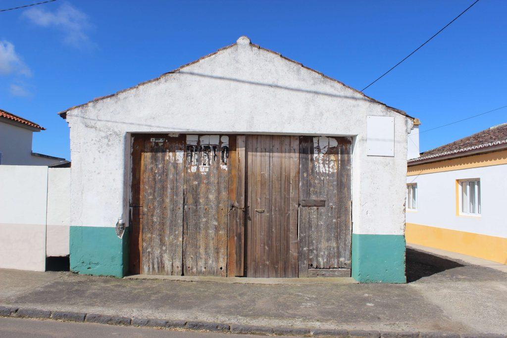 door of an Azores house