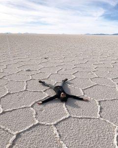 Salt Flats Uyuni Bolivia Suitcase Six