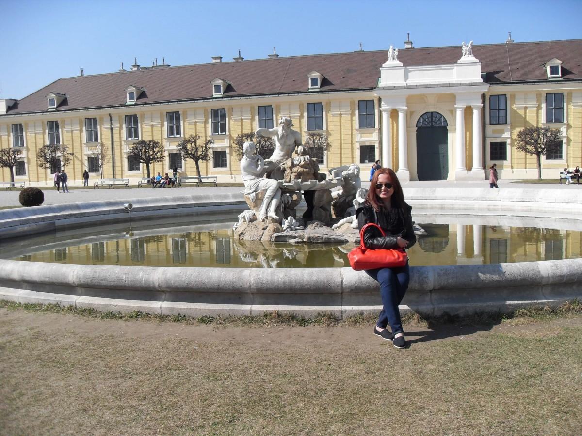 Kate Schonbrunn Vienna Austria