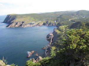 The coast of Newfoundland Canada east coast trail