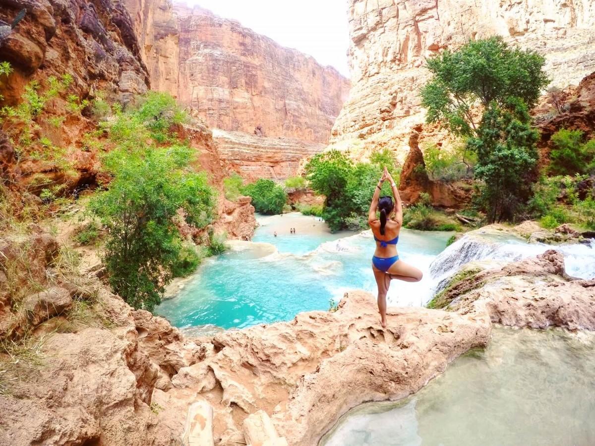 Jasmine in Havasupai Beaver Falls