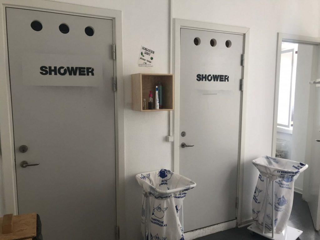 globalhagen hostel shower stalls