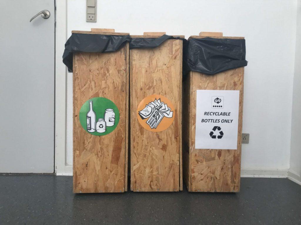 globalhagen hostel recycling bins